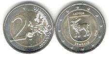 2 Euro Gedenkmünze 2018 Lettland, Serie Regionen Zemgale