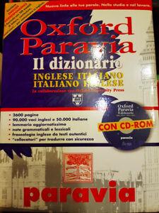 Dizionario Inglese Italiano bilingue Oxford Paravia