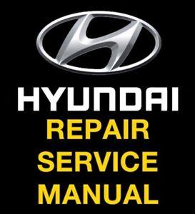 Car Truck Service Repair Manuals For Hyundai For Sale Ebay