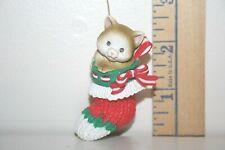 Carlton Cards Ornament - Stocking Full Of Love - Cat Kitten - 1990