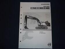 VOLVO EC350E EC380E EC480E EXCAVATOR CAB & INTERIOR SHOP BOOK MANUAL