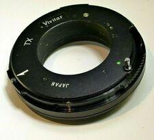 Vivitar TX to M42 Pentax camera adapter Ring Mount screw in type 42mm Universal