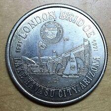 New listing London Bridge, Lake Havasu Dollar, 1982 (#X96)