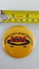Minneapolis Moline Pin Back Button, Antique Farm Tractors, Equipment