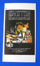 ADESIVO CINEMA GAMBERINI - THE SONG REMAINS THE SAME - LED ZEPPELIN - cm.7X12,5