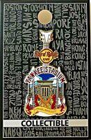 Hard Rock Cafe Yankee Stadium Pin City Tee V17 Guitar 2017 HRC New LE # 96890