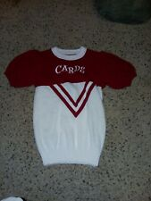 Vintage 1970S Arkansas High School Ladys Cheerleaders Knitted Sweater For The.