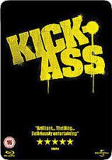 KICK-ASS BLU-RAY+DVD STEELBOOK 2-DISC SET NEW/SEALED NICOLAS CAGE LOW SHIP WW