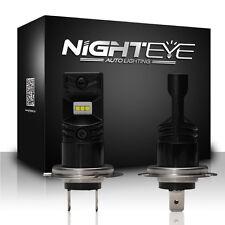 NIGHTEYE H7 800LM LED Fog Light Bulbs Car Driving Lamp DRL Set 6500K Cool White