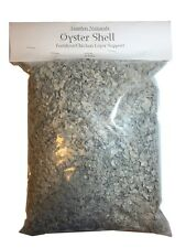 All Natural Crushed Oyster Shell 10 Pounds (Garden Naturals)