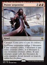 MTG Magic BFZ - Serpentine Spike/Pointe serpentine, French/VF