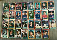 1990 ATLANTA BRAVES Topps COMPLETE Baseball Team SET 31 Cards MURPHY EVANS GANT!