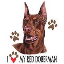 Red Doberman Love Tote