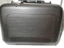Camcoder Case  Hard Side Plastic Black Camcorder Case for Storing Equipment