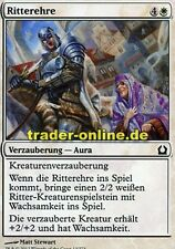 4x Ritterehre (Knightly Valor) Return to Ravnica Magic