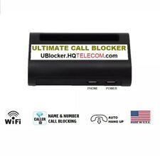 Ultimate Call Blocker (Wifi) - Dual Blacklist, Unlimited Blocking Capacity - Usa