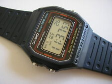 CASIO VINTAGE LCD WATCH W-10, W-10-1B, MODULE 415 (593), RARE OLD, 1984.