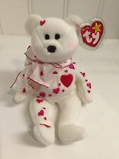 ~Decorated with Hearts ~ Love Bear TY BEANIE BABIES by ARTIST TERRI SOPP RAE