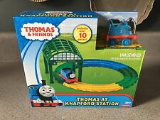New Fisher Price Thomas Train Tank Engine Knapford Station PlaySet Track Figure