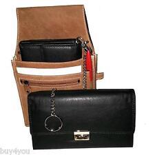 Real Leather Waiter Bag Waiter Wallet Waiter Holster Waiter Pocket Purse