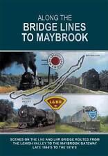 Along the Bridge Lines to Maybrook DVD NEW John Pechulis Lehigh New England RR