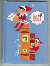 Elf On The Shelf Hardcover Blue Notebook Journal Diary Lined Paper Always Nice