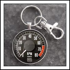 Shelby Mustang tachometer photo keychain men's Gift 🏎