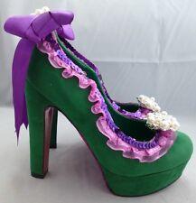 NEW - Disney Inspired Womens Heels - The Little Mermaid - Ariel - Adult Size 5