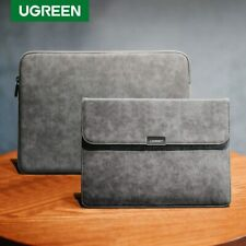 Ugreen Laptop Bag Leather Notebook Bag Case Cover For Macbook Air Macbook Pro