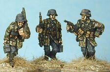 4fbb1aac0 SHQ LF02 1 76 Diecast WWII German MG42 Team-NCO MP40 Moving