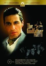 The GODFATHER Part II 2 - Al PACINO, Robert DUVALL - 2 DVD SET - Free Post!