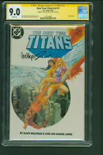 New Teen Titans 7 CGC SS 9.0 signed Jose Luis Garcia Lopez DC Comics 1985
