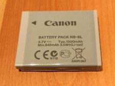 Genuine Canon NB-6L Battery for Canon PowerShot SX HS