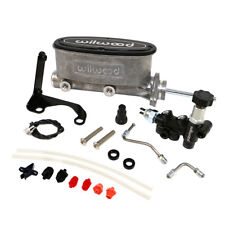 "Wilwood 261-13271 Natural Tandem Master Cylinder 7/8"" Bore W/ Bracket-Valve Kit"