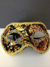 ORIENTAL MASQUERADE MASKS..FACE MASK..EROCTICA..MASKED BALL..RED,GREEN,BLACK.NEW
