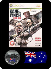 Kayne & Lynch: Dead Men - Limited Edition - (Xbox 360, VGC, COMPLETE, FAST POST)
