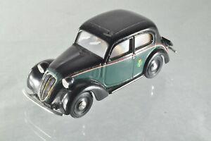 JS042 Brumm r062 1:43 1937 Fiat 1100 508c Taxi de Milan B-/-