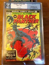 JUNGLE ACTION BLACK PANTHER #8 PGX 8.5 VF+ ORIGIN/MAP OF WAKANDA NOT CBCS CGC