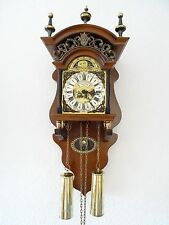 Warmink Dutch Sallander Wall Clock Moonphase 8 day Holland (Zaanse Junghans era)