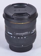 Sigma 10-20mm f/4-5.6D EX DC HSM Zoom Lente de enfoque automático para Nikon