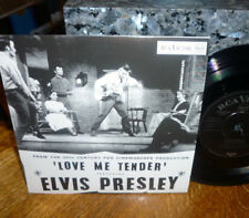 """*<* SALE! UNPLAYED MINT ELVIS """"LOVE ME TENDER"""" +3 UK-only 2001 EP/PICTURE COVER!"""