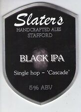 SLATER'S BREWERY (STAFFORD) - BLACK IPA - PUMP CLIP FRONT