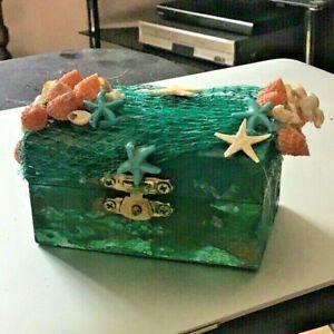 Small Mermaids  Chest Handmade