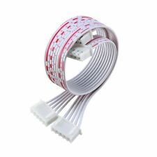 5pcs Female To Female 5p Jumper Wire 254mm Pitch Ribbon Cable Diy 20cm Long