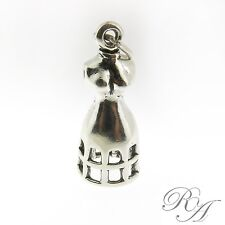 925 Sterling Silver Dress Form Charm Made in USA