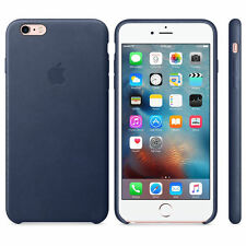 Apple Back Cover for Mobile Phone Leather Midnight Blue iPhone 6 Plus 6s Mkxd2zm