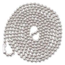 Advantus Id Badge Holder Chain 36 Long Nickel Plated 100box Avt75417