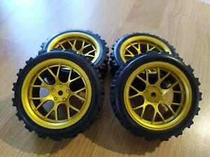 Rc car 1/10 rally wheels tires rally blocks 1/10 RC rally car