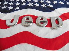 US Auto Car Emblem Schriftzug Schild Chrysler JEEP silber Letter Typ Deko of USA