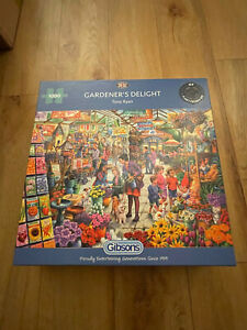 Gibsons Jigsaw Puzzle Gardener's Delight 1000 Pieces (G6305) Brand New Sealed